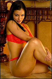 Aria Giovanni has strong legs and amazing big boobs