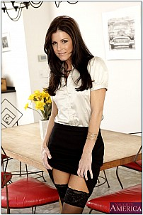India Summers as stripping secretary