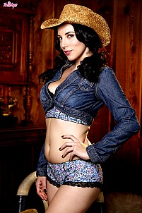Jelena Jensen as naughty cowgirl