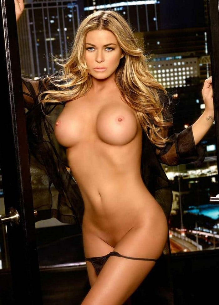 Carmen electra poses nude — pic 8