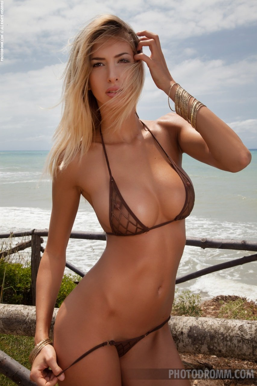 See through bikini gallery