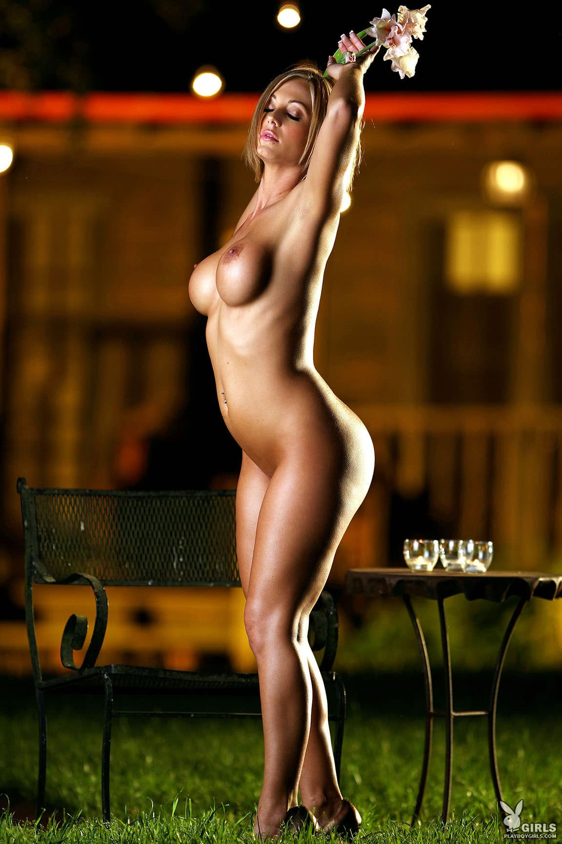 playboy single nude poses
