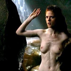 Rose leslie topless