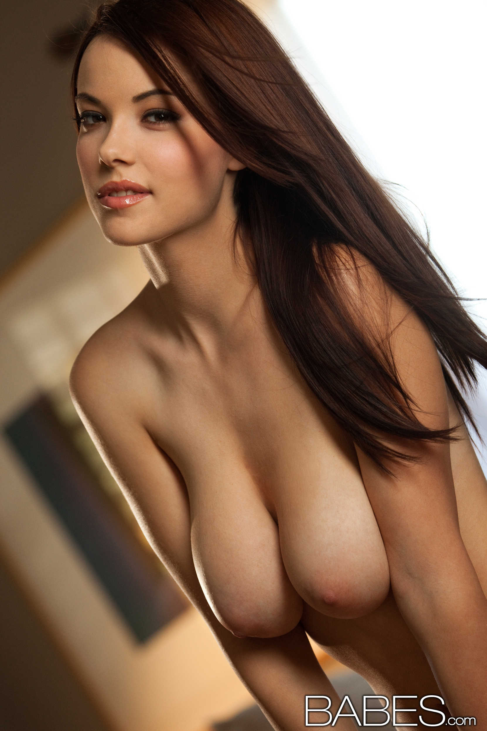 Beautiful busty nude babes