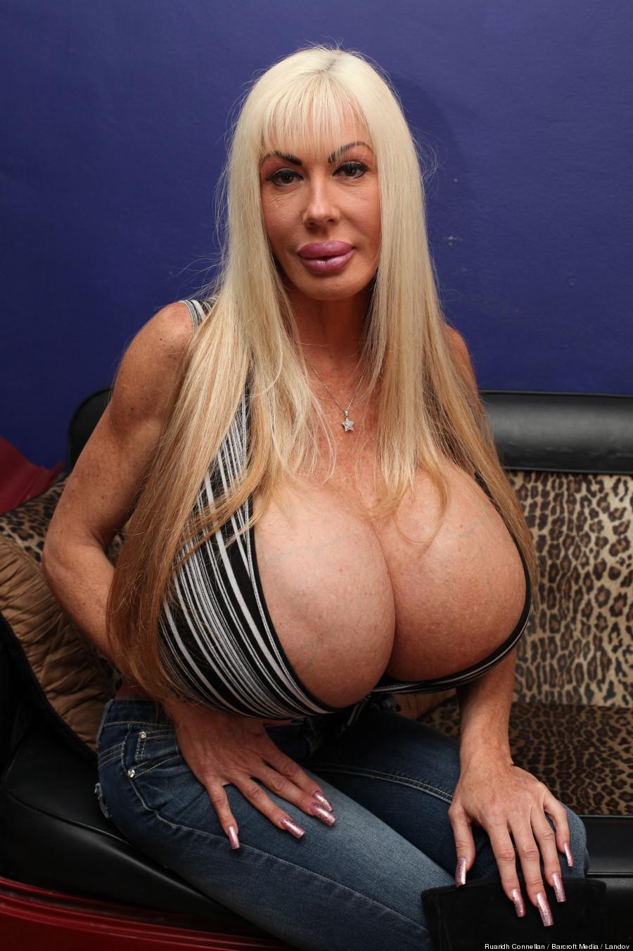 Elizabeth with big tits