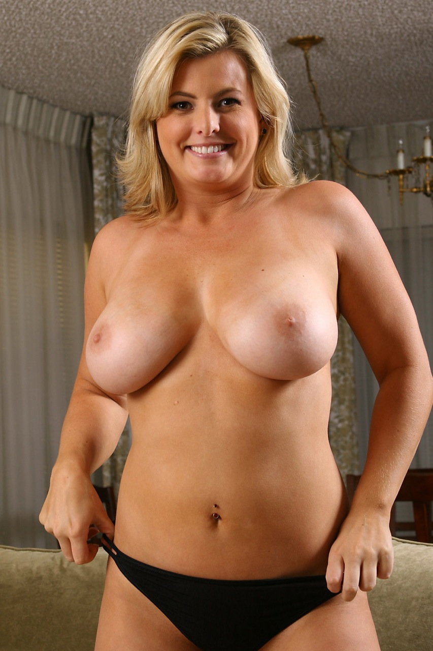 Milf big tits sheer top pantyhose