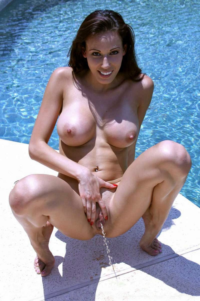 Mature bouncing nude women