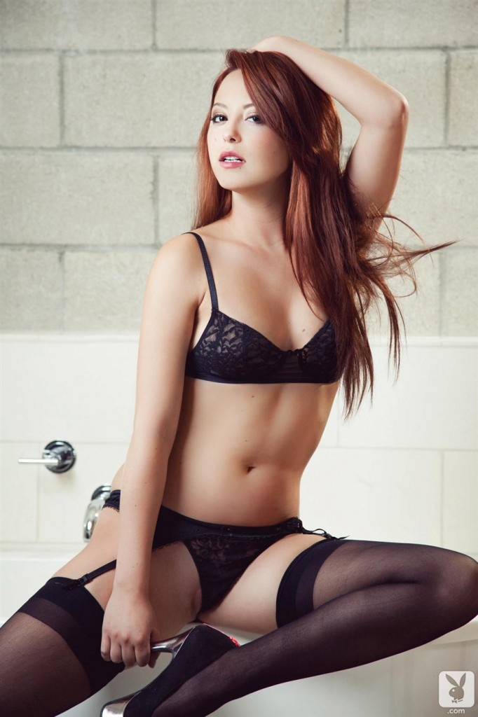 image Very hot redhead bitch smoking and sucking a cock